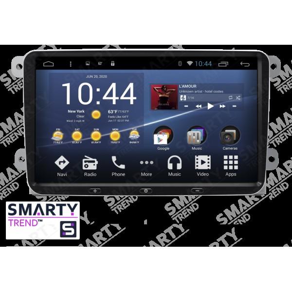 Штатная магнитола Smarty Trend для Seat Toledo - Android 7.1
