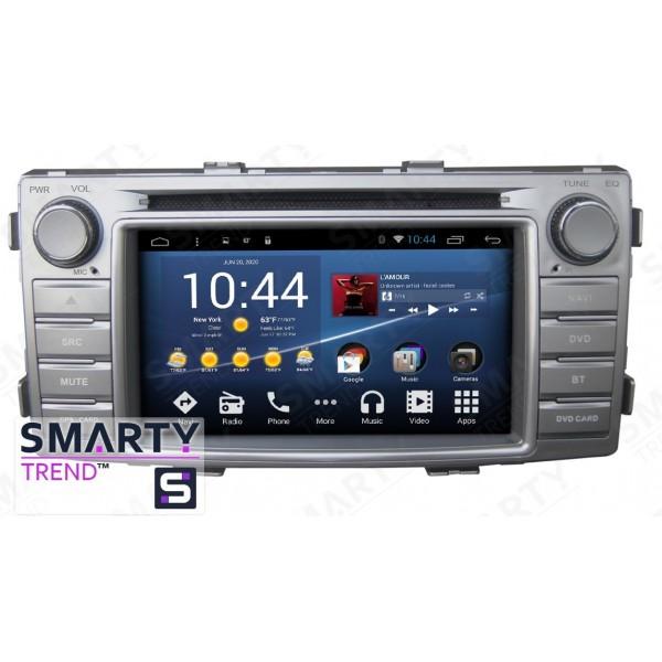 Штатная магнитола Smarty Trend для Toyota Hilux 2011-2015 - Android 8.1 (9.0)