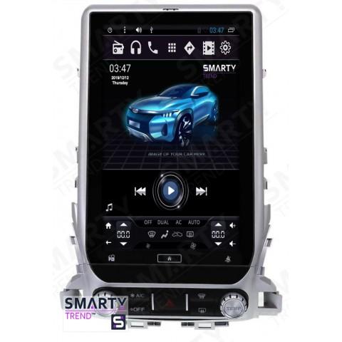 Штатная магнитола Smarty Trend ST8UT-516K13001 для Toyota Land Cruiser 200 2015+ на Android 6.0.1 (Marshmallow)