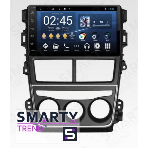 Штатная магнитола Smarty Trend для Toyota Yaris - Android 8.1 (9.0)