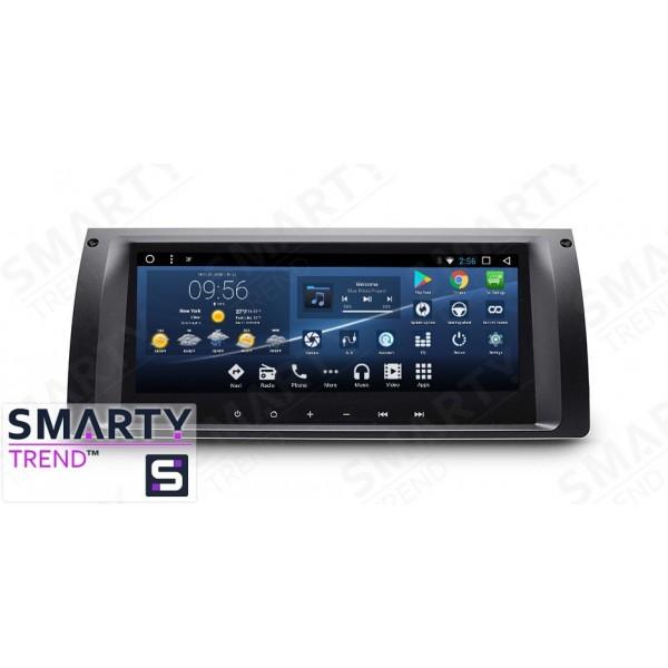Штатная магнитола Smarty Trend для BMW X5 Series - Android 7.1