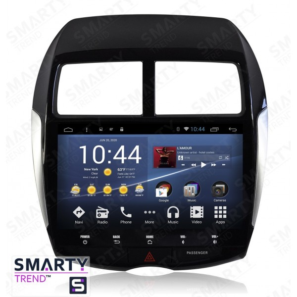 Штатная магнитола Smarty Trend для Citroen C4 Aircross - Android 8.1 (9.0)