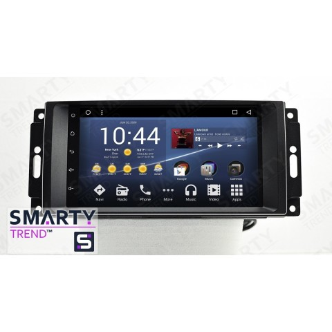 Штатная магнитола Smarty Trend ST3P2-516PK8718 для Jeep Compass на Android 7.1.2 (Nougat)