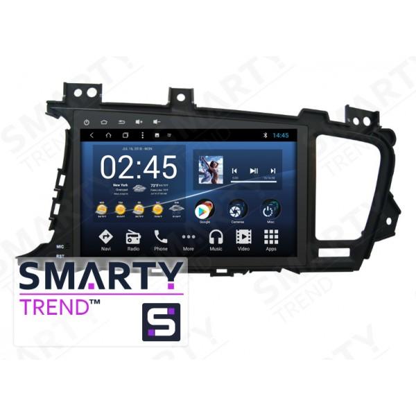 Штатная магнитола Smarty Trend для KIA Optima K5 - Android 8.1 (9.0)