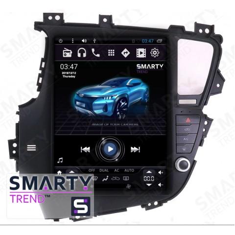 Штатная магнитола Smarty Trend ST8UT-516K12115 для KIA Optima K5 на Android 6.0.1 (Marshmallow)