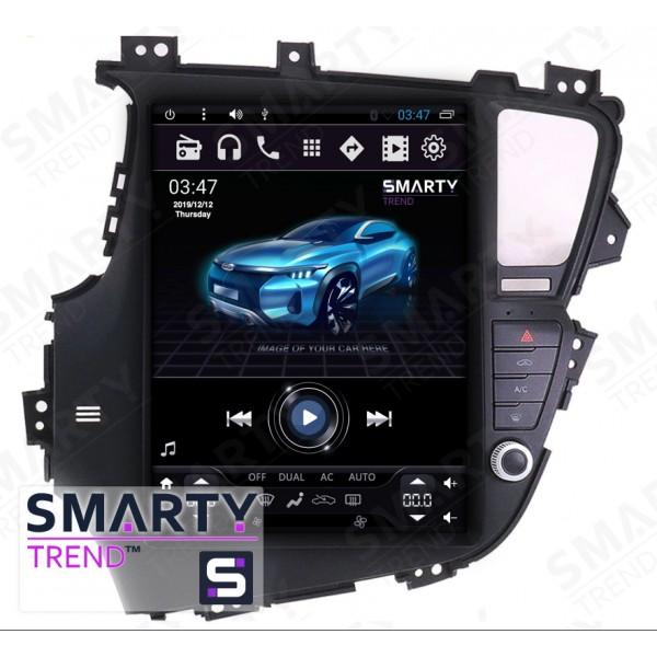 Штатная магнитола Smarty Trend для KIA Optima K5 (Tesla Style) - Android 6.0