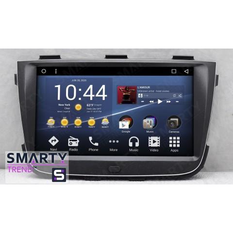 Штатная магнитола Smarty Trend ST3P2-516P7064p для KIA Sorento 2013-2015 на Android 7.1.2 (Nougat)