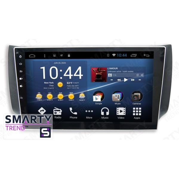 Штатная магнитола Smarty Trend для Nissan Sentra - Android 8.1 (9.0)