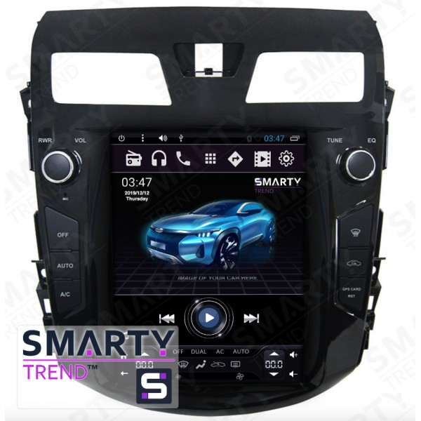 Штатная магнитола Smarty Trend для Nissan Teana 2014 (Tesla Style) - Android 6.0