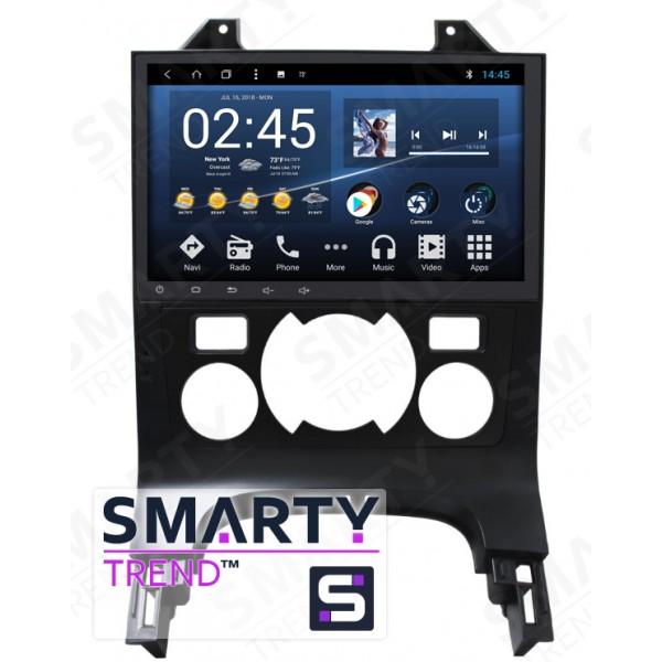 Штатная магнитола Smarty Trend для Peugeot 3008 Automatic - Android 8.1 (9.0)