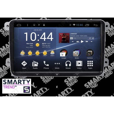 Штатная магнитола Smarty Trend ST3P2-516P1688 для Skoda Fabia на Android 7.1.2 (Nougat)