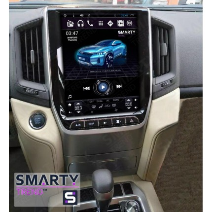 Штатная магнитола Smarty Trend для Toyota Land Cruiser 200 2015+ (Tesla Style) - Android 6.0