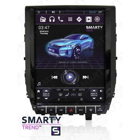 Штатная магнитола Smarty Trend ST3PT-516PK2735 для Toyota Land Cruiser 200 2015+ на Android 6.0.1 (Marshmallow)