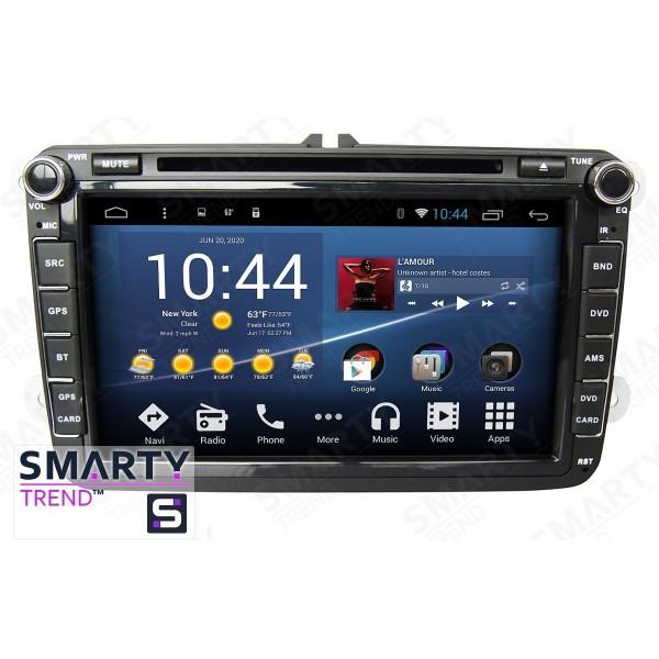 Штатная магнитола Smarty Trend для Volkswagen Caddy - Android 7.1
