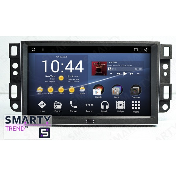 Штатная магнитола Smarty Trend для Chevrolet Captiva 2006-2011 - Android 8.1 (9.0)