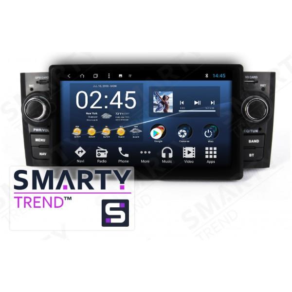 Штатная магнитола Smarty Trend для Fiat Linea - Android 8.1 (9.0)