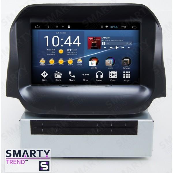 Штатная магнитола Smarty Trend для Ford Ecosport - Android 7.1