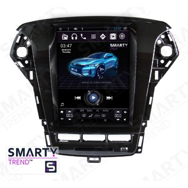 Штатная магнитола Smarty Trend для Ford Mondeo (Tesla Style) - Android 6.0