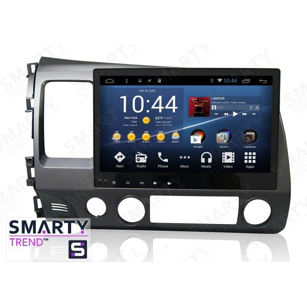 Штатная магнитола Smarty Trend для Honda CIVIC 4D 2006-2011 - Android 7.1