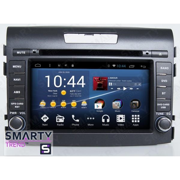 Штатная магнитола Smarty Trend для Honda CR-V 2012-2014 - Android 8.1 (9.0)