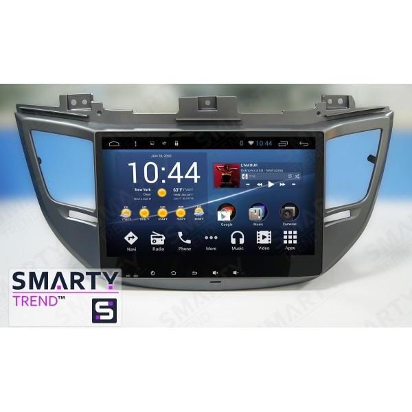 Штатная магнитола Smarty Trend для Hyundai Tucson 2016 - Android 8.1 (9.0)