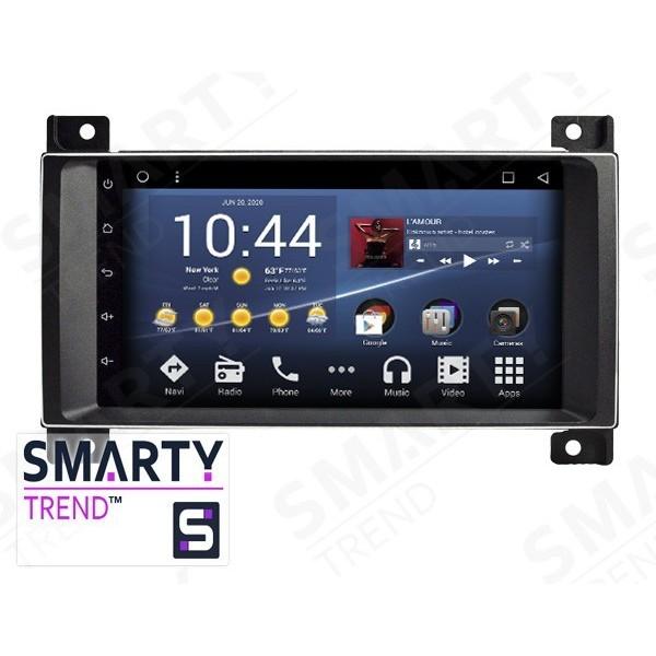 Штатная магнитола Smarty Trend для Jeep Grand Cherokee - Android 7.1