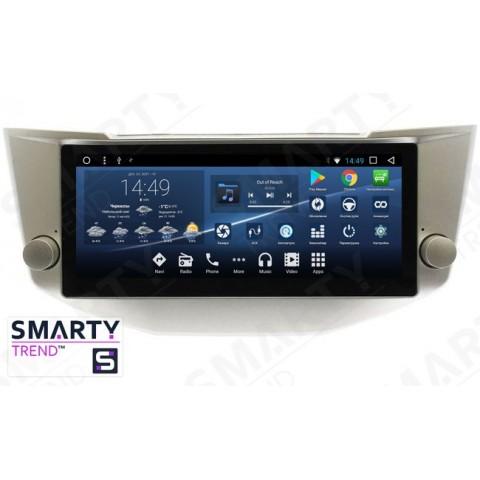 Штатная магнитола Smarty Trend ST3PW-516PRXNA для Lexus RX II 300 | 330 | 350 (2003-2008) на Android 7.1.2 (Nougat)