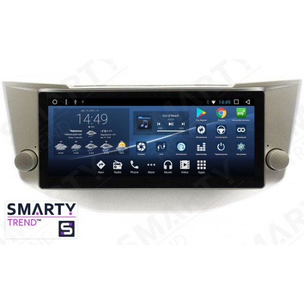 Штатная магнитола Smarty Trend для Lexus RX II 300 / 330 / 350 (2003-2008) - Android 7.1