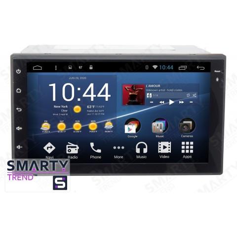Штатная магнитола Smarty Trend ST3P2-516PK8688 для Nissan X-Trail 2001-2013 на Android 7.1.2 (Nougat)