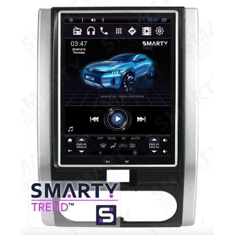 Штатная магнитола Smarty Trend ST8UT-516K10424 для Nissan X-Trail 2001-2013 на Android 6.0.1 (Marshmallow)