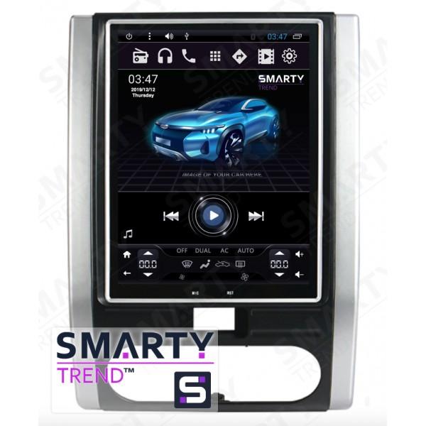Штатная магнитола Smarty Trend для Nissan X-Trail 2001-2013 (Tesla Style) - Android 6.0