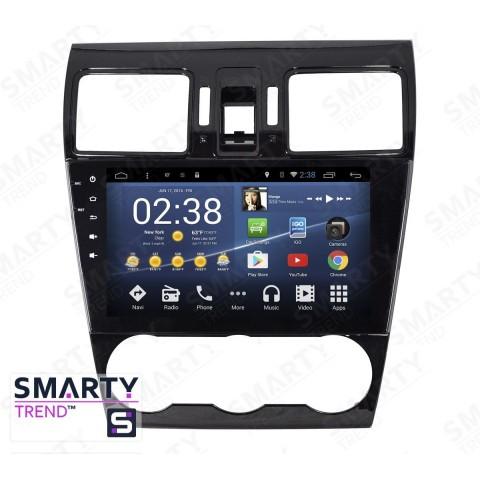 Штатная магнитола Smarty Trend ST3P2-516PK1988 для Subaru Forester 2013+ на Android 7.1.2 (Nougat)