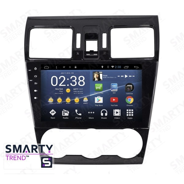 Штатная магнитола Smarty Trend для Subaru Forester 2013-2016 - Android 7.1