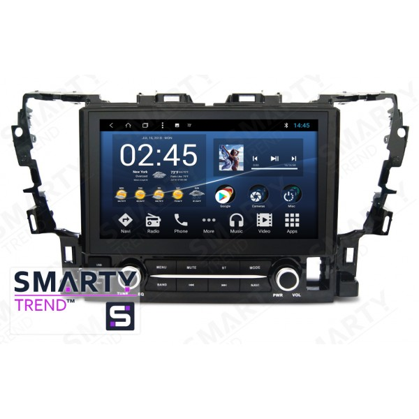 Штатная магнитола Smarty Trend для Toyota Alphard - Android 8.1 (9.0)