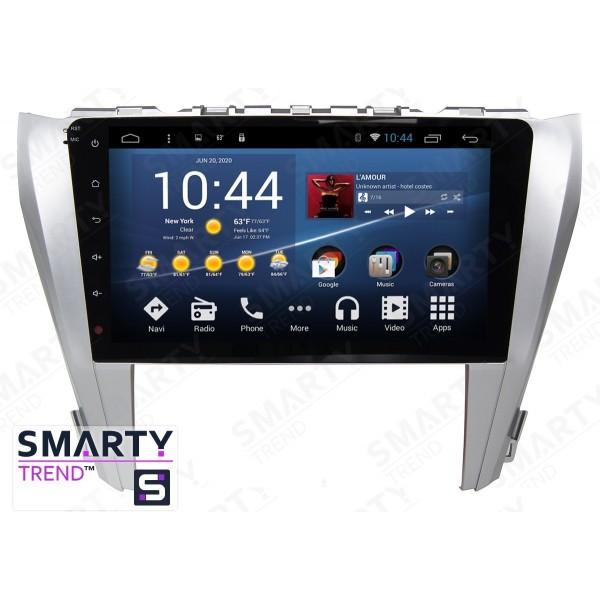Штатная магнитола Smarty Trend для Toyota Camry V55 2014-2015 - Android 7.1