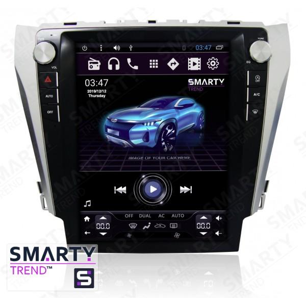Штатная магнитола Smarty Trend для Toyota Camry V55 2014-2015 (Tesla Style) - Android 6.0