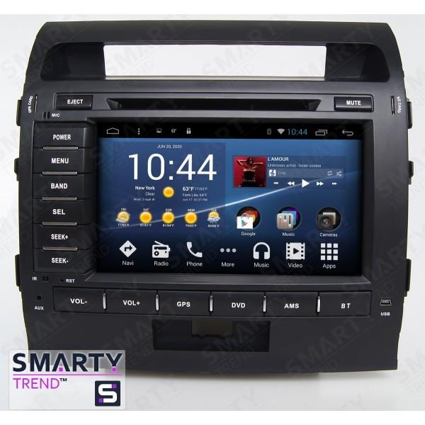 Штатная магнитола Smarty Trend для Toyota Land Cruiser 200 2008-2015 - Android 8.1 (9.0)