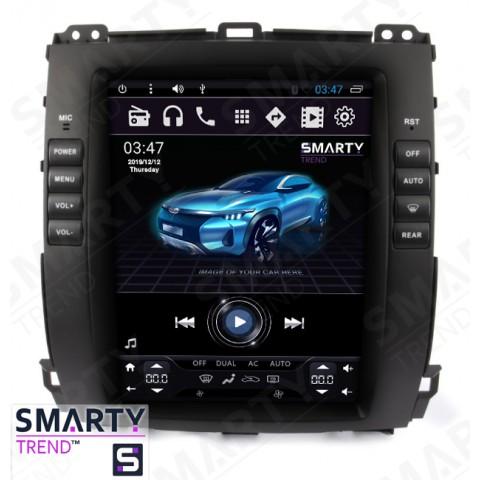 Штатная магнитола Smarty Trend ST8UT-516K10411 для Toyota Land Cruiser Prado 120 на Android 6.0.1 (Marshmallow)