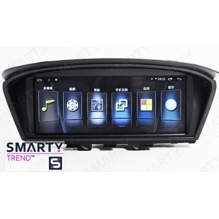 Штатная магнитола Smarty Trend для BMW 5 Series E60 - Android 7.1