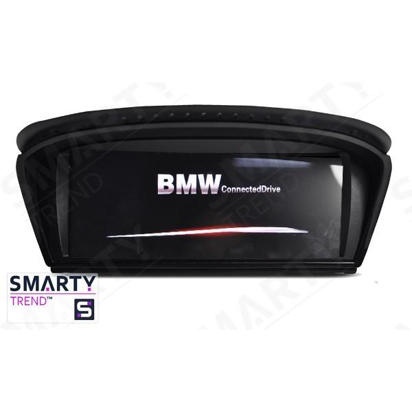 Штатная магнитола Smarty Trend для BMW 5 Series E60 - Android 7.1