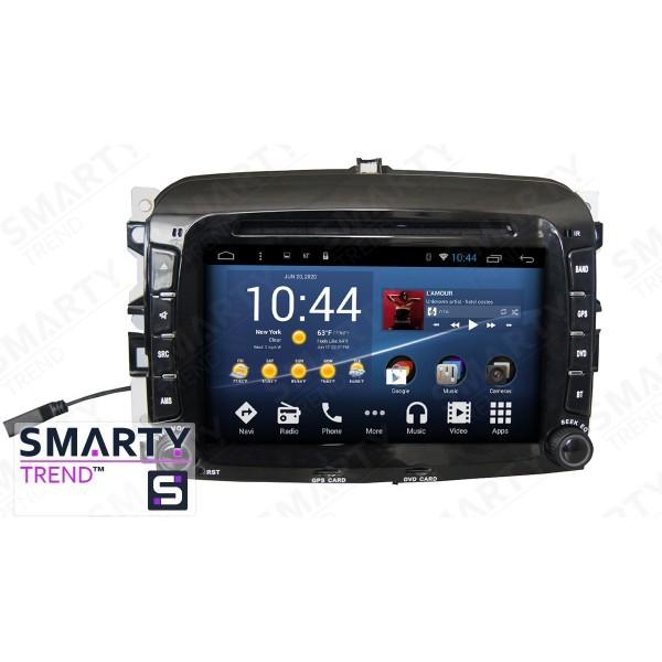 Штатная магнитола Smarty Trend для Fiat 500L - Android 8.1 (9.0)