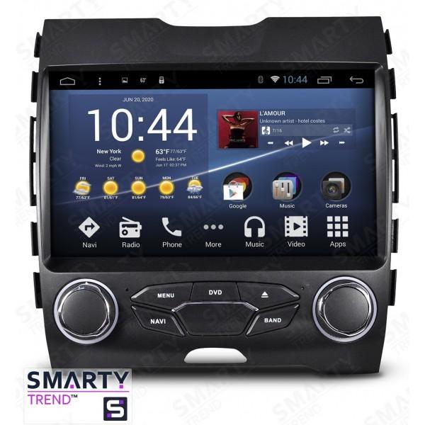 Штатная магнитола Smarty Trend для Ford Edge - Android 7.1