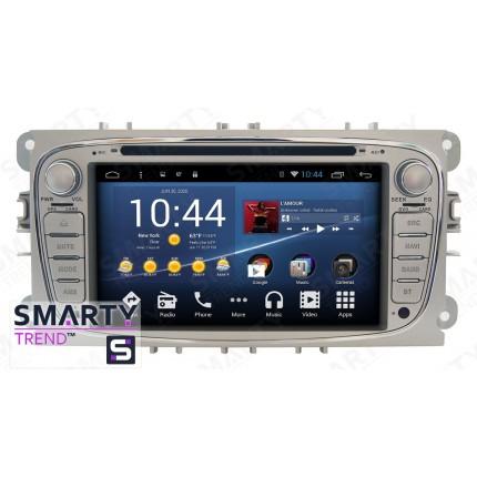 Штатная магнитола Smarty Trend для Ford Focus II 2009-2011 - Android 8.1 (9.0)