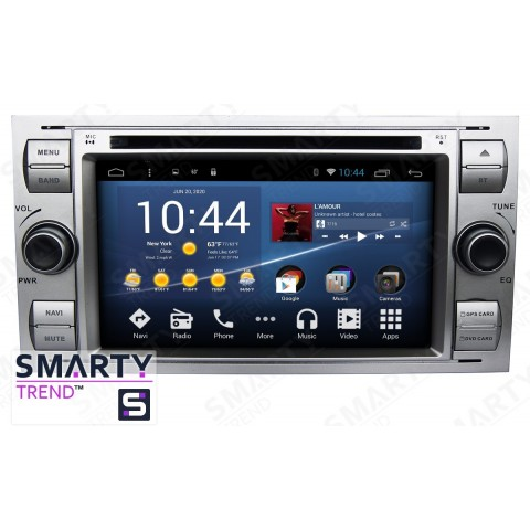 Штатная магнитола Smarty Trend ST8U-516K7039 для Ford Transit на Android 8.1.0 Oreo (обновление до Android 9.0 P)