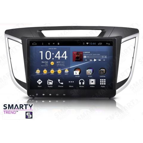 Штатная магнитола Smarty Trend ST3P2-516PK1880 для Hyundai Creta 2016+ (ix25) на Android 7.1.2 (Nougat)