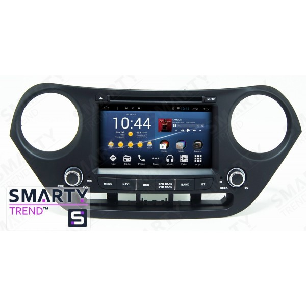 Штатная магнитола Smarty Trend для Hyundai i10 - Android 8.1 (9.0)