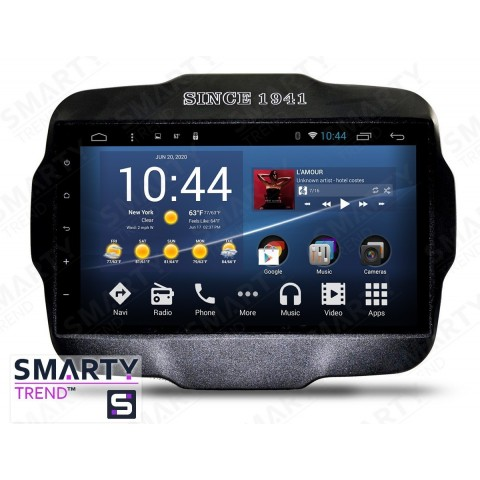 Штатная магнитола Smarty Trend ST3P2-516PK8716 для Jeep Renegade на Android 7.1.2 (Nougat)