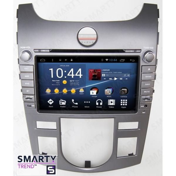 Штатная магнитола Smarty Trend для KIA Cerato / Forte / K3 2009-2012 - Android 8.1 (9.0)