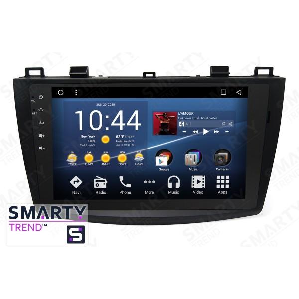 Штатная магнитола Smarty Trend для Mazda 3 2009-2013 - Android 8.1 (9.0)