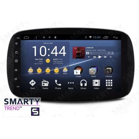 Штатная магнитола Smarty Trend ST3P2-516P2560 для Mercedes Benz Smart на Android 7.1.2 (Nougat)
